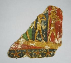 Cartonnage fragment