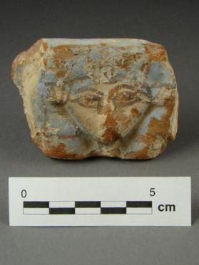 Hathor bowl rim fragment