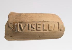 Amphora handle fragment with the stamp of VISELLI