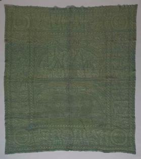 Quilt with figural motifs