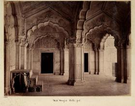 Moti Masjid, Delhi fort, from photograph album of Views of India