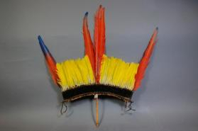 Crown (Panikoti or Diadememe-kutop) made and used by men during Mekutop dance