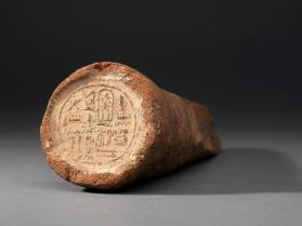 Funerary cone of Amunmose, 1st prophet of Thutmose I