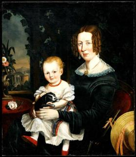 Margaret (Erskine) Williamson and her daughter Eliza Jessie