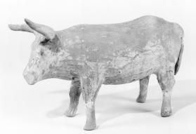 Burial figure of an ox