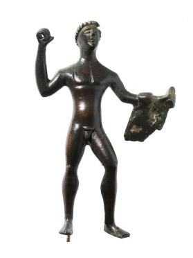 Figure of Hercle with lion skin
