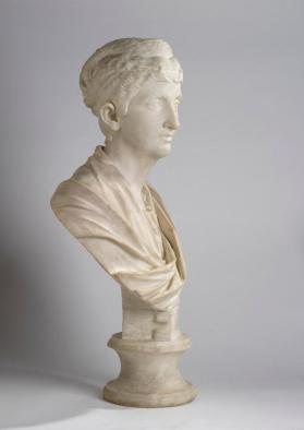 Portrait bust of Faustina the Elder