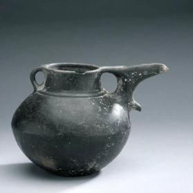 Jug with beak spout