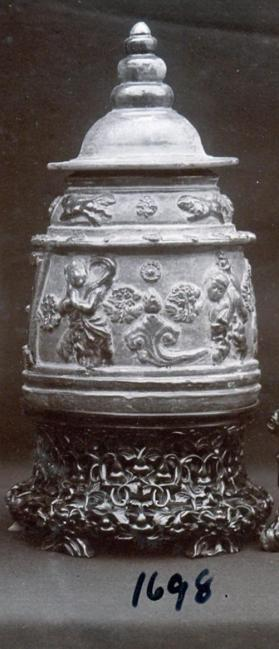 Funerary jar and cover