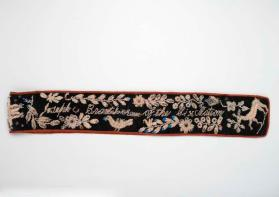 Beaded bandolier or sash