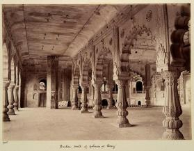 Darbar Hall of palaces at Deeg, from photograph album of Views of India