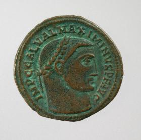 Follis coin of Maximinus II