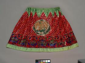 Skirt of woman's festival costume