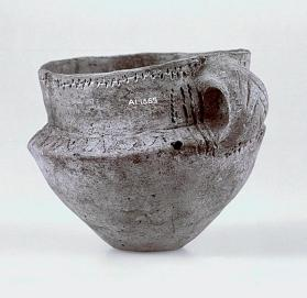Cup with one handle