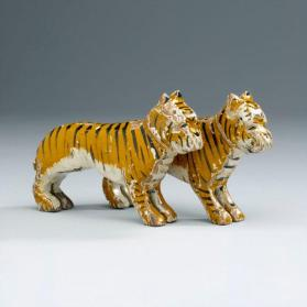 Noah's ark figures: pair of tigers