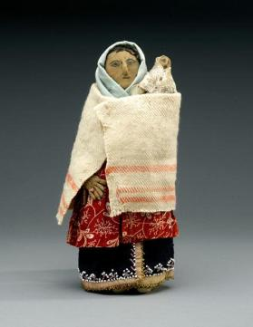 Mother and child doll