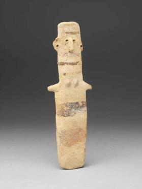 Plank-shaped female figure of White Painted II ware