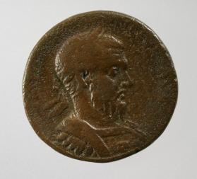Large coin of Macrinus