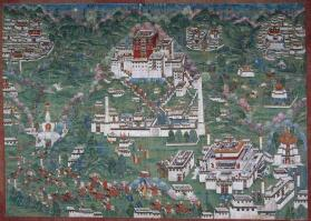 Painting of Temples and Monasteries of Lhasa