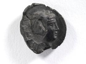 Impression of a seal with the head of Dionysus