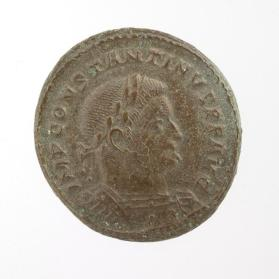 Follis coin of Constantine I
