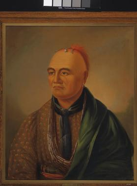 """Brant,"" [Portrait of Joseph Brant (Thayendanegea)], Mohawk, Six Nations, Grand River, Ontario"