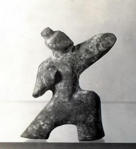 Burial figure of a male dancer