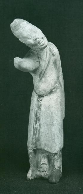 Burial figure of a foreign male