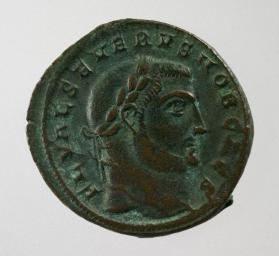 Follis coin of Severus II