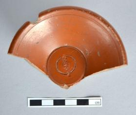 Fragmentary small cup of Samian ware