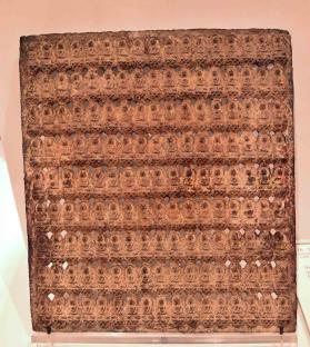 Tablet with 153 Buddhas