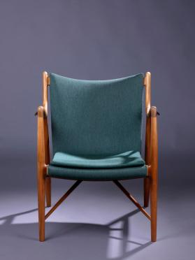 "Pair of ""Model 45"" or ""NV 45"" Armchairs"
