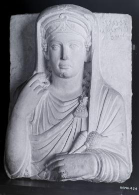 Tomb relief of a woman