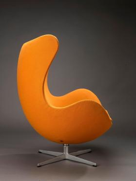 """Egg"" lounge chair"