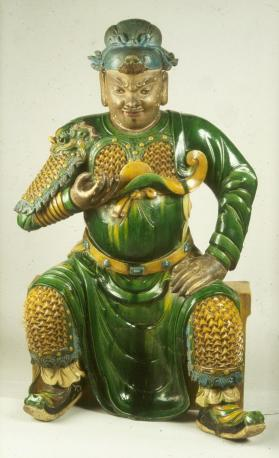 Figure of a seated general