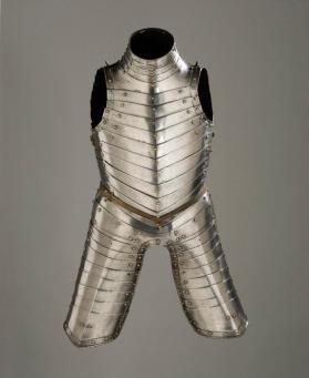 Anime Cuirass, Small Garniture for Battle