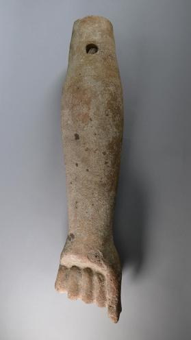 Arm of votive figure