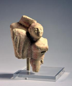 Fragmentary winged Eros figure