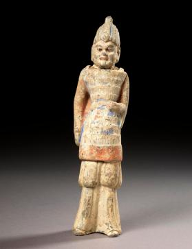 Burial figure of a soldier