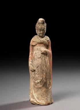 Burial figure of a female attendant