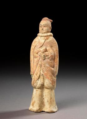 Burial figure of a male attendant