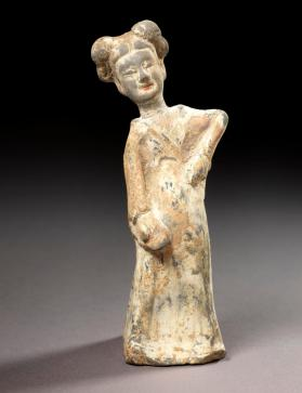 Burial figure of a female dancer