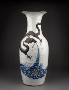 Vase with a Dragon and Fish