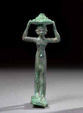 Statuette of a cake-carrier