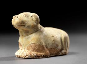 Burial figure of a dog