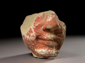 Figure fragment of a face