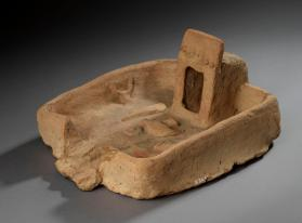 Ancient model of a 'soul house'