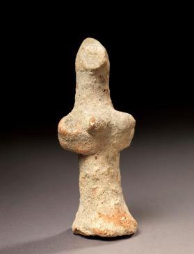 "Figure of ""Pedestal"" type of female"