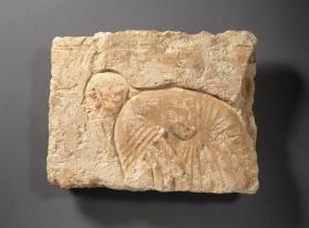 Relief with bowing courtier