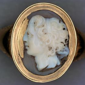 Cameo of Alexander the Great